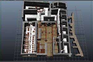 Figure 1:  Construction of 3D model of Building X at Kalavasos-Ayios Dhimitrios.